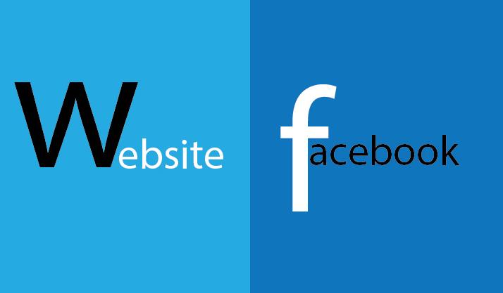 Tại sao bạn nên chọn website thay cho fanpage.