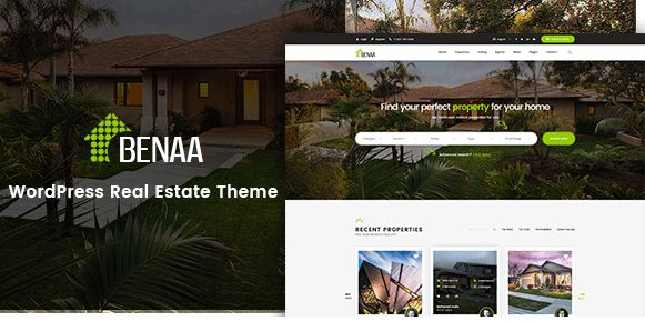 Benaa – Real Estate WordPress Theme bất động sản