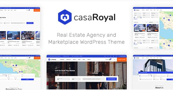 CasaRoyal- Real Estate WordPress