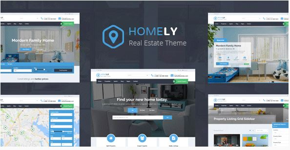 Homely – Real Estate WordPress Theme bất động sản