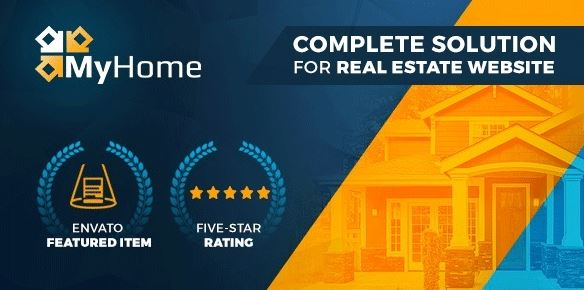 My home Real Estate WordPress
