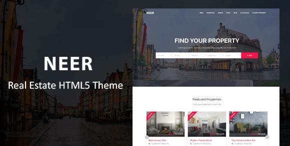 Neer – Real Estate HTML Template
