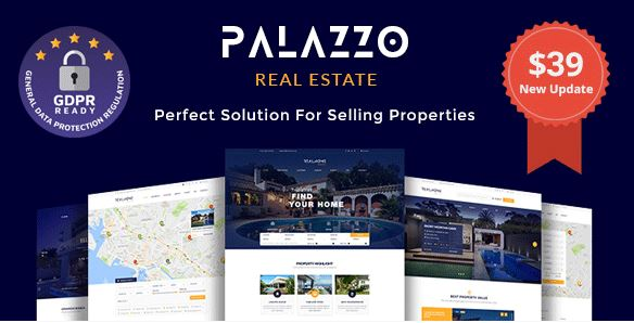 Palazzo – Real Estate WordPress Theme bất động sản