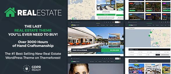 Real Estate 7 – Real Estate WordPress Theme