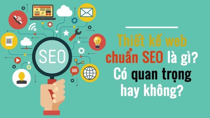Thiết kế website chuẩn SEO theo yêu cầu