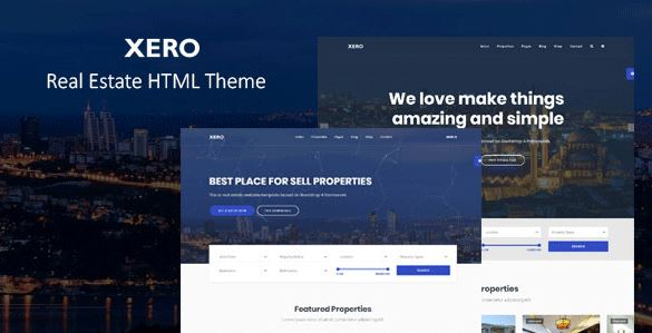 Xero – Real Estate HTML Template