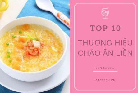 Top 10 thương hiệu cháo ăn liền – tiện lợi và giàu dinh dưỡng cho trẻ