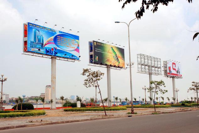 Lựa chọn vật liệu in quảng cáo ngoài trời