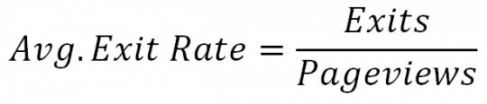 Công thức tính tỉ lệ bounce rate