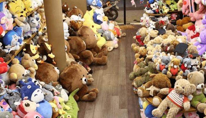 cửa hàng gấu bông